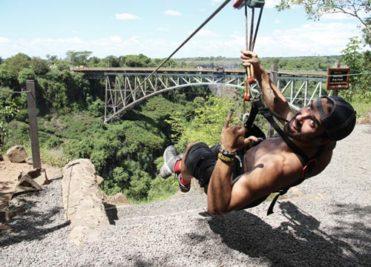 Bridge Slide Victoria Falls Activity