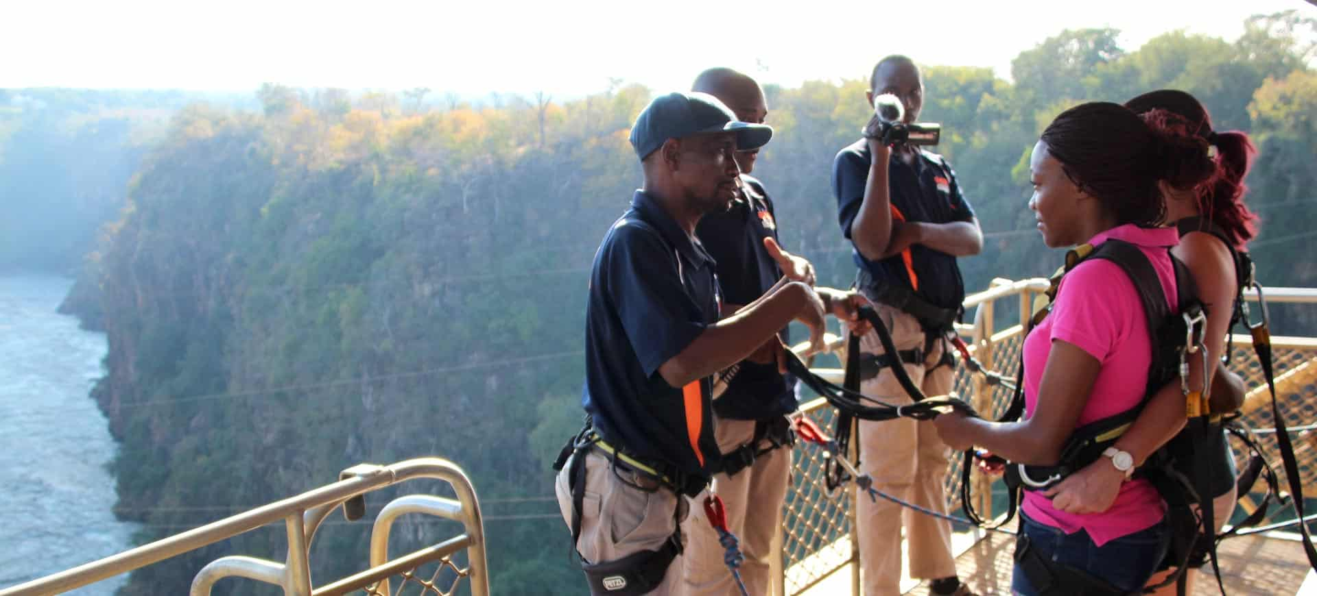 Bridge Swing Vic Falls