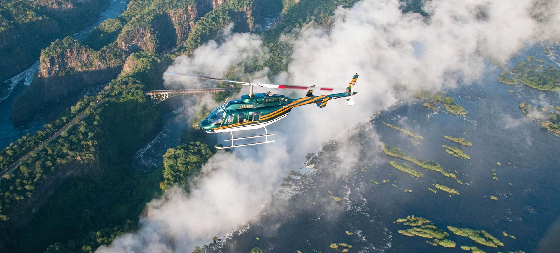 Helicopter Trip Victoria Falls