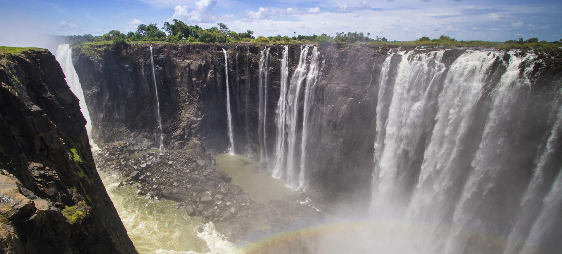 Victoria Falls Waterfall Guided Tour