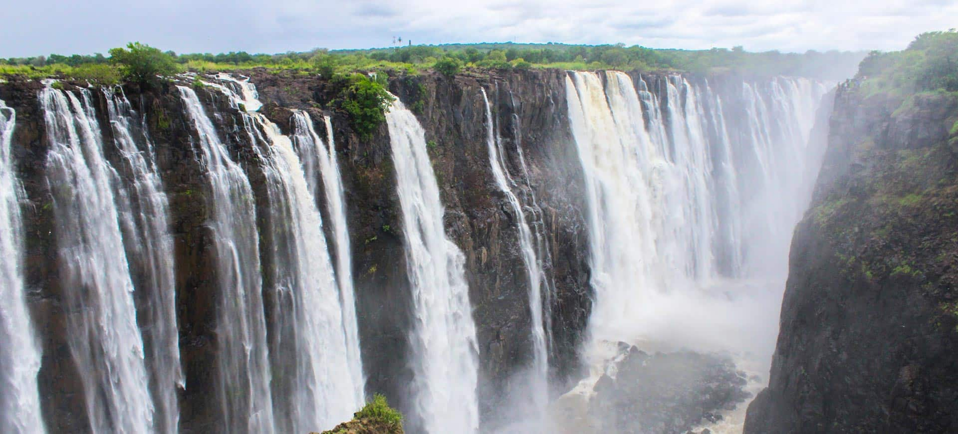 Victoria Falls Waterfall Tour