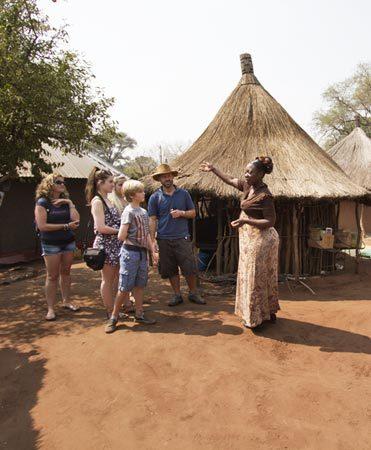 Village Tour Victoria Falls
