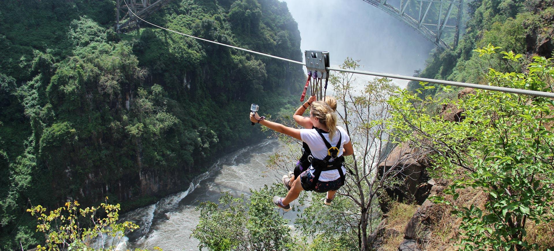 Zip Line Victoria Falls