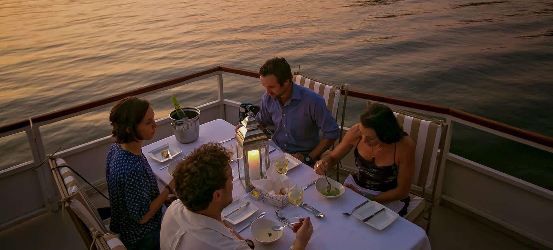 Dinner Cruise Zambezi River Victoria Falls
