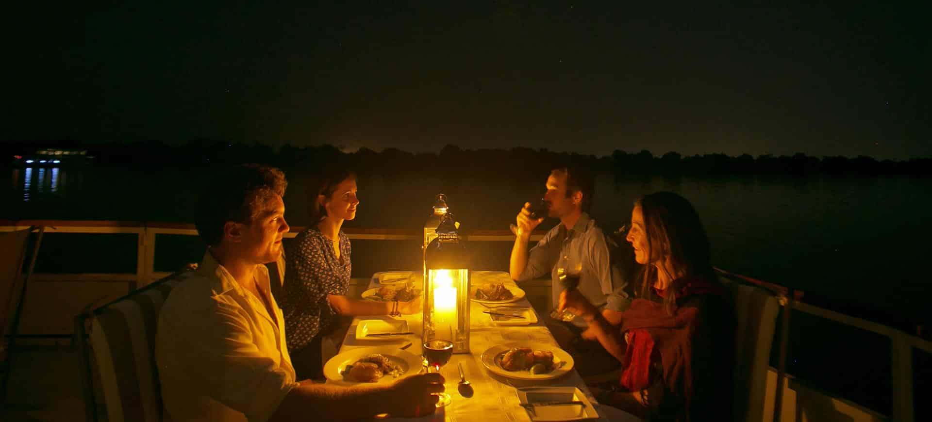 Dinner Zambezi River Cruise