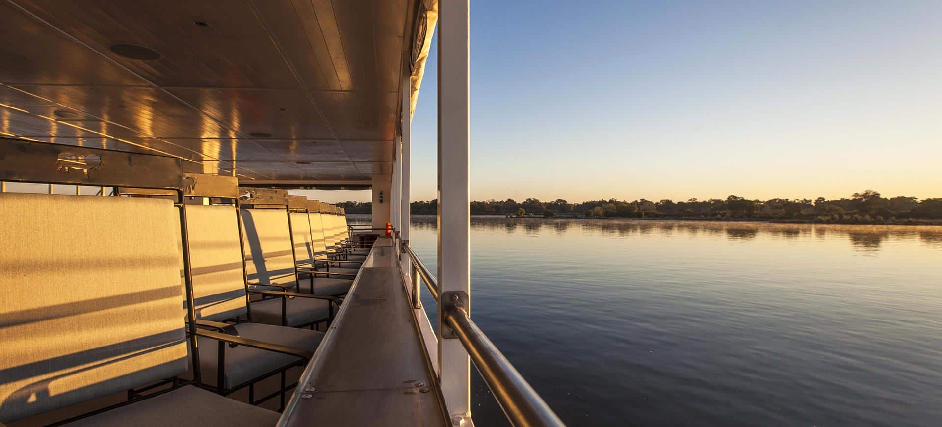 Luxury Zambezi River Sunset Cruise