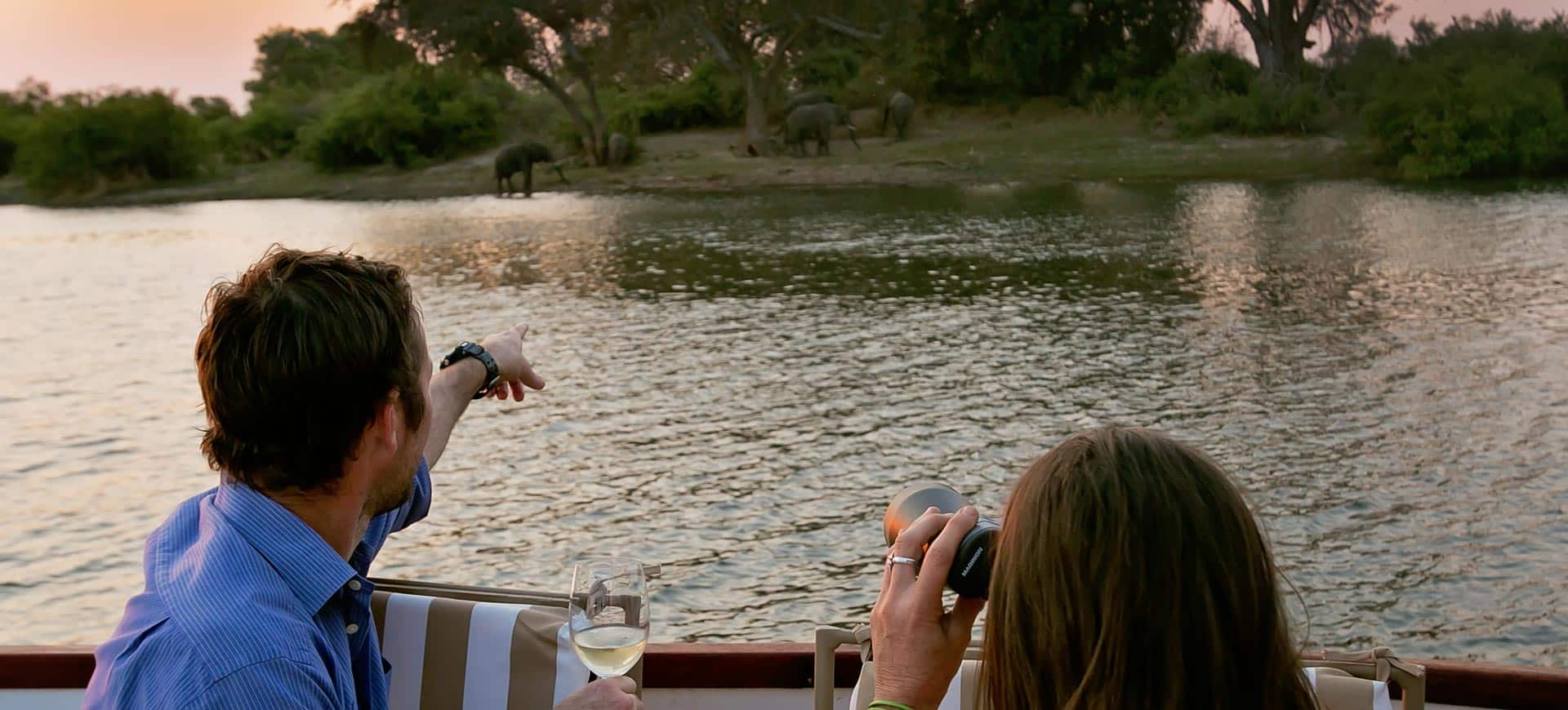 Victoria Falls Luxury Sunset Cruise