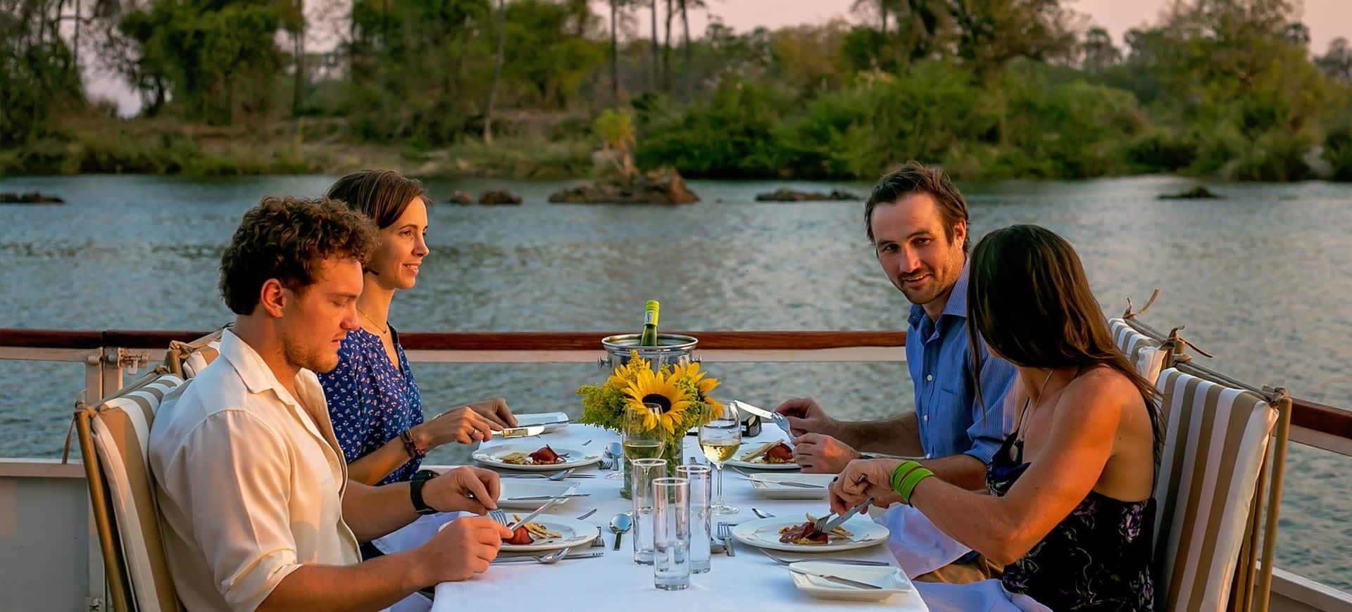 Zambezi Dinner Cruise Victoria Falls