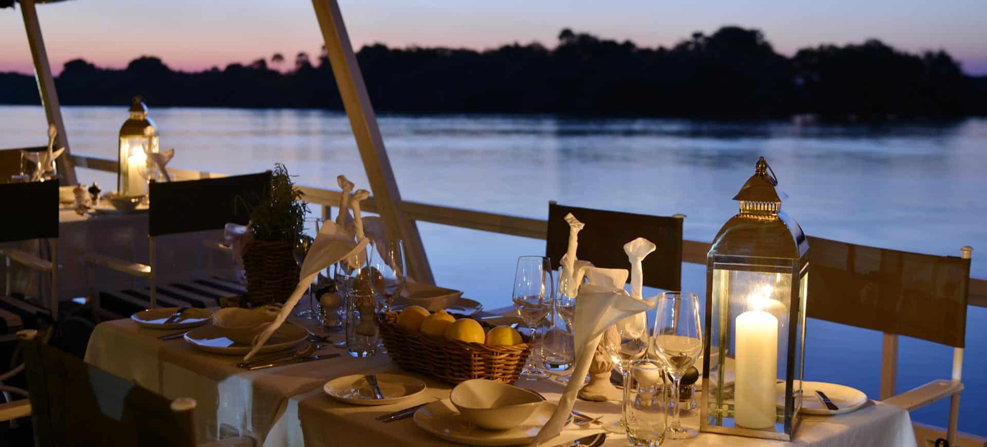 Zambezi River Dinner Cruise In Victoria Falls