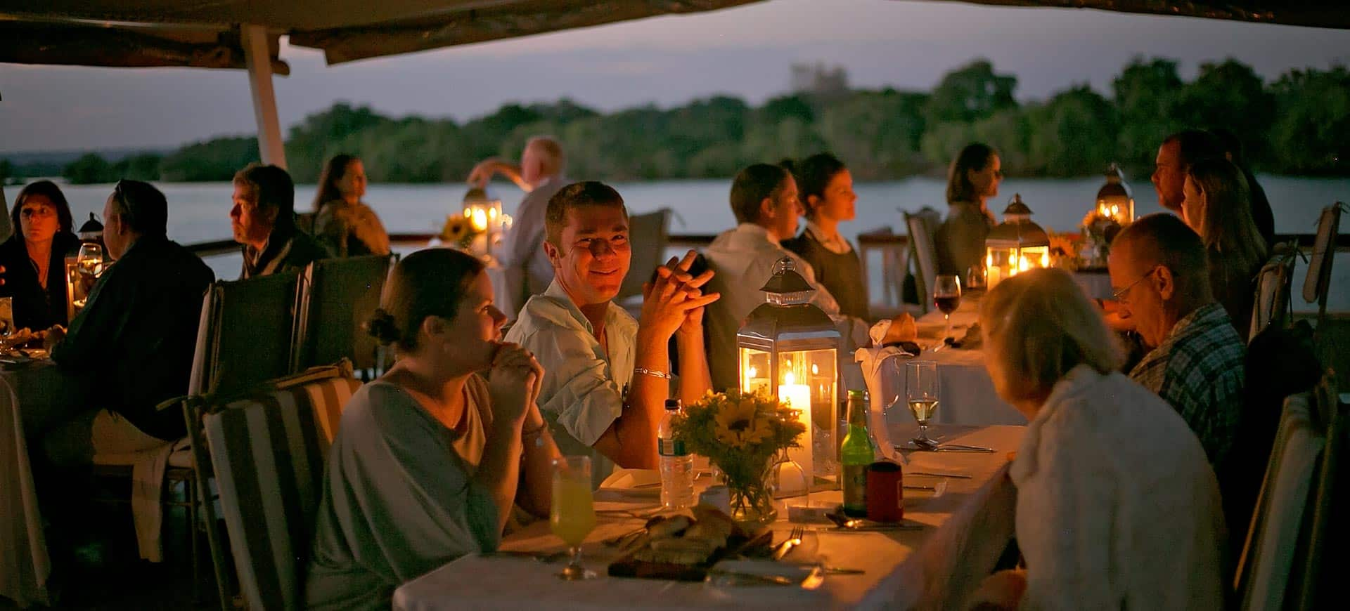 Zambezi River Dinner Cruise Zimbabwe