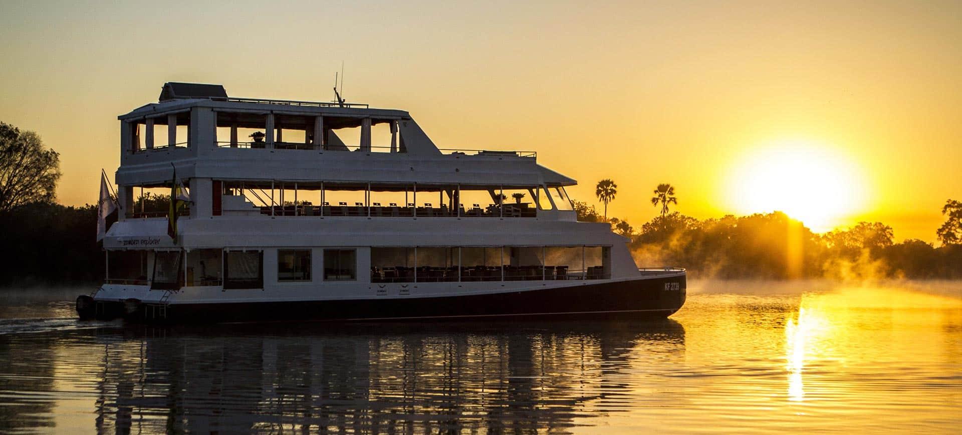 Zambezi River Sunset Cruises Victoria Falls