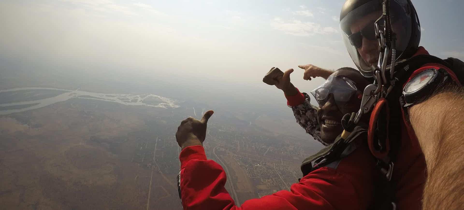 Skydive Tandem Victoria Falls