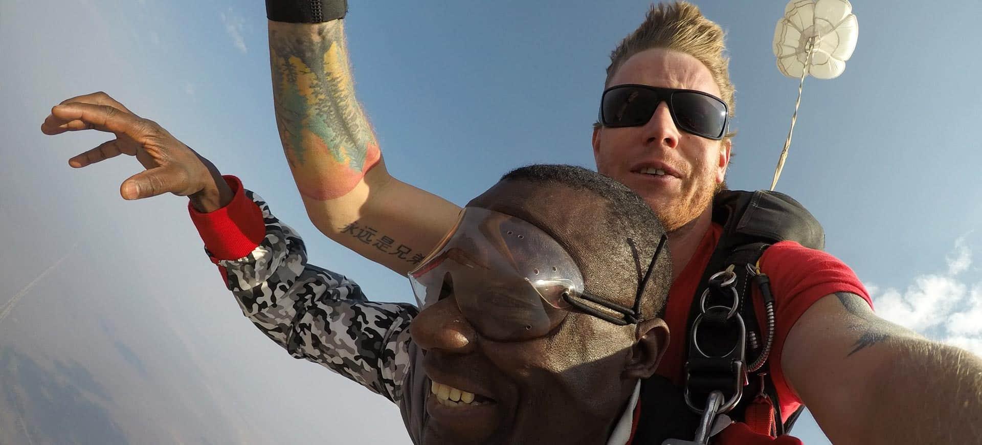 Skydive Victoria Falls