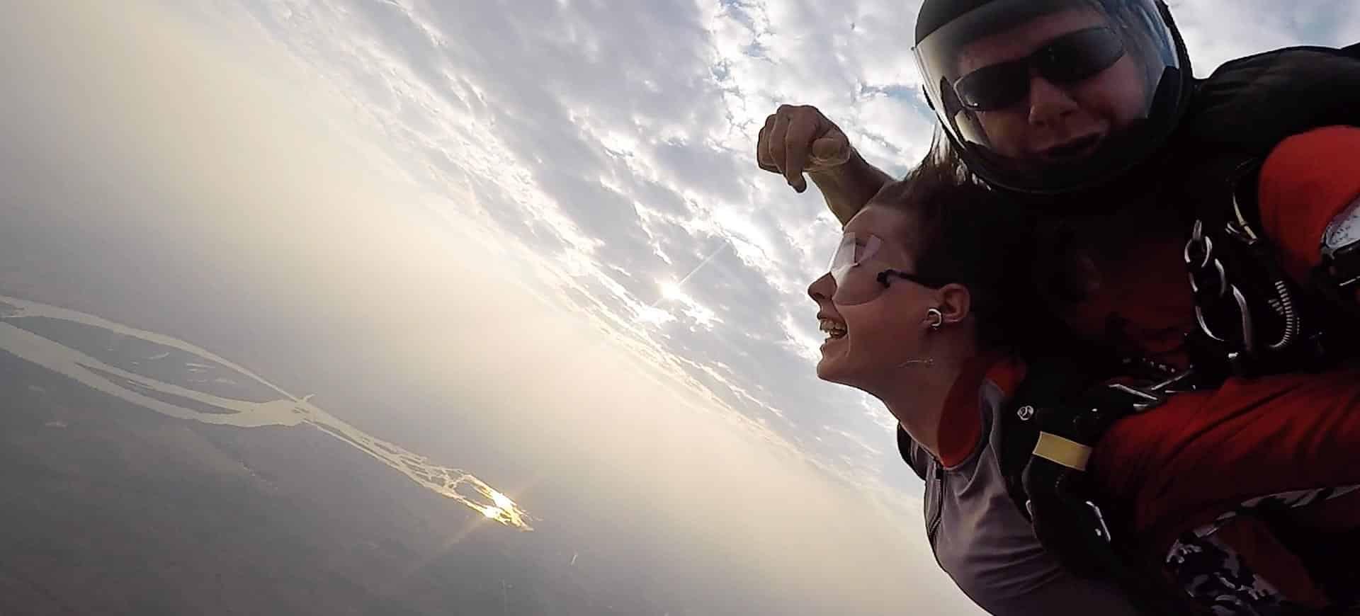 Skydiving Victoria Falls