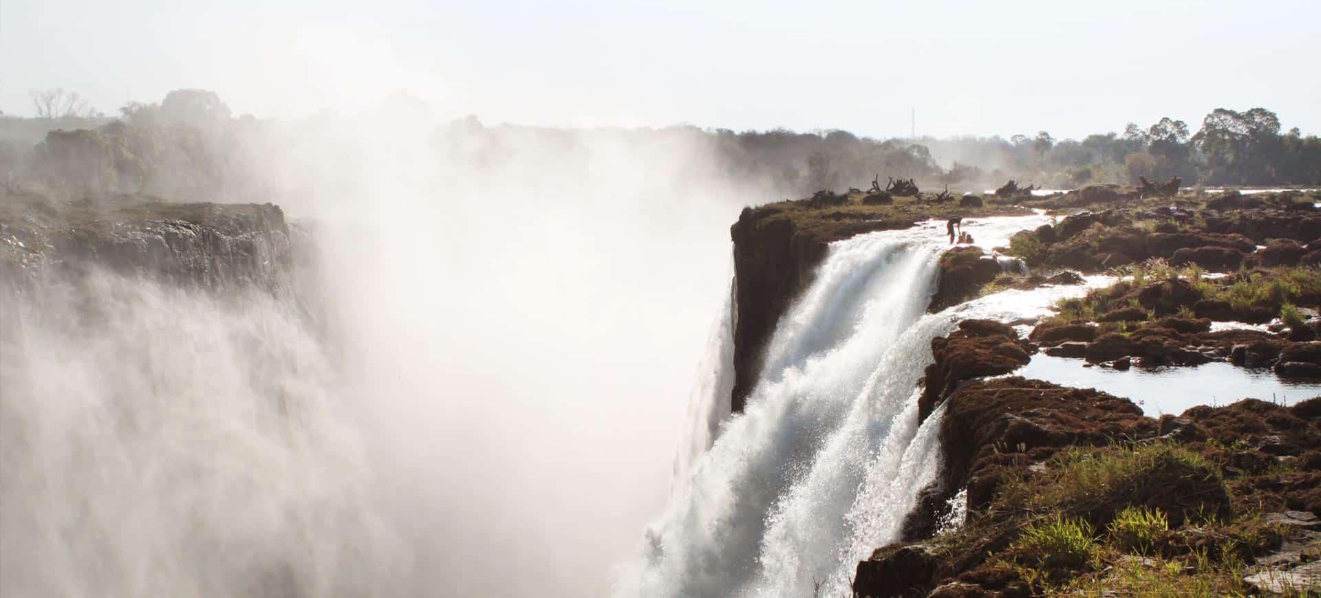 Devils Pool in Victoria Falls