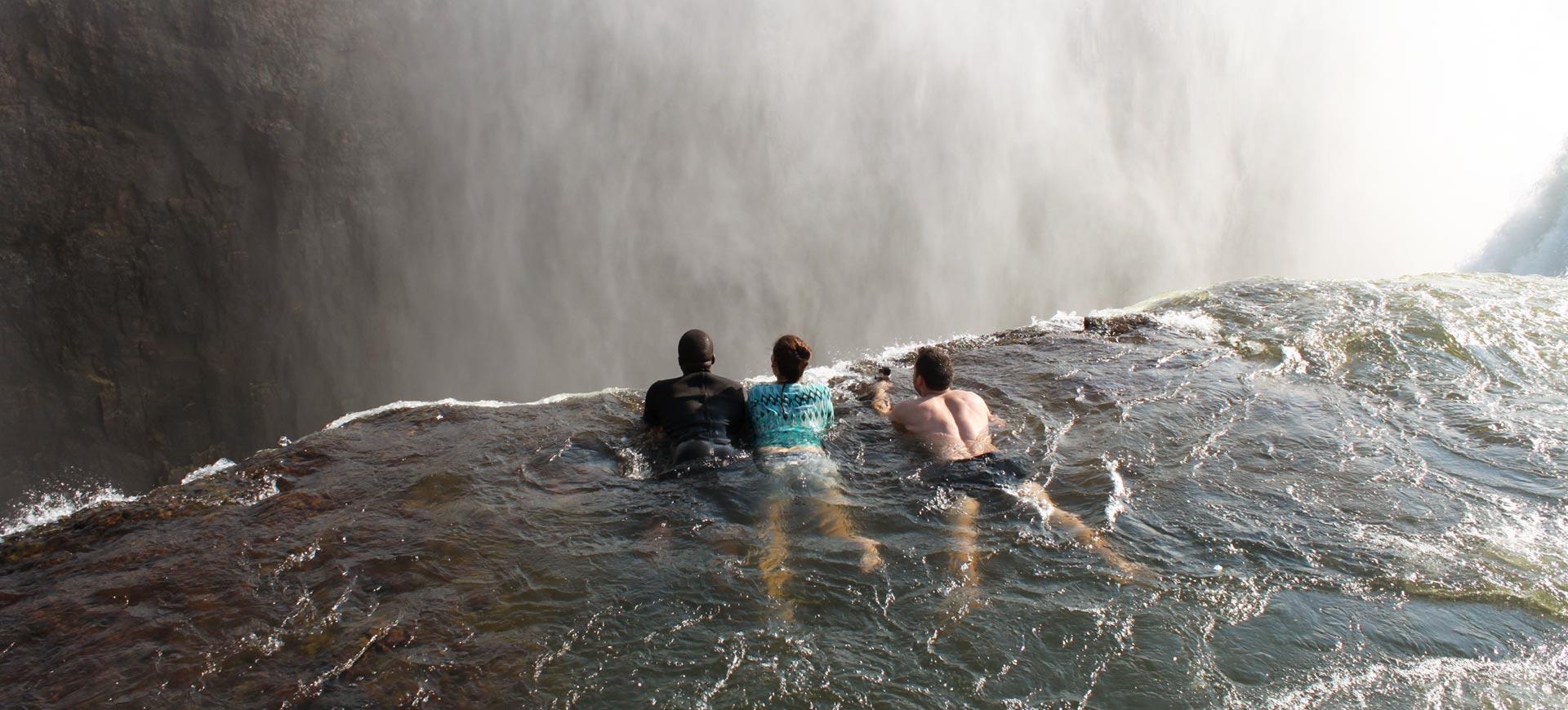 Livingstone Island Devils Pool